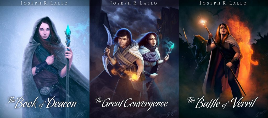 The Book of Deacon series covers