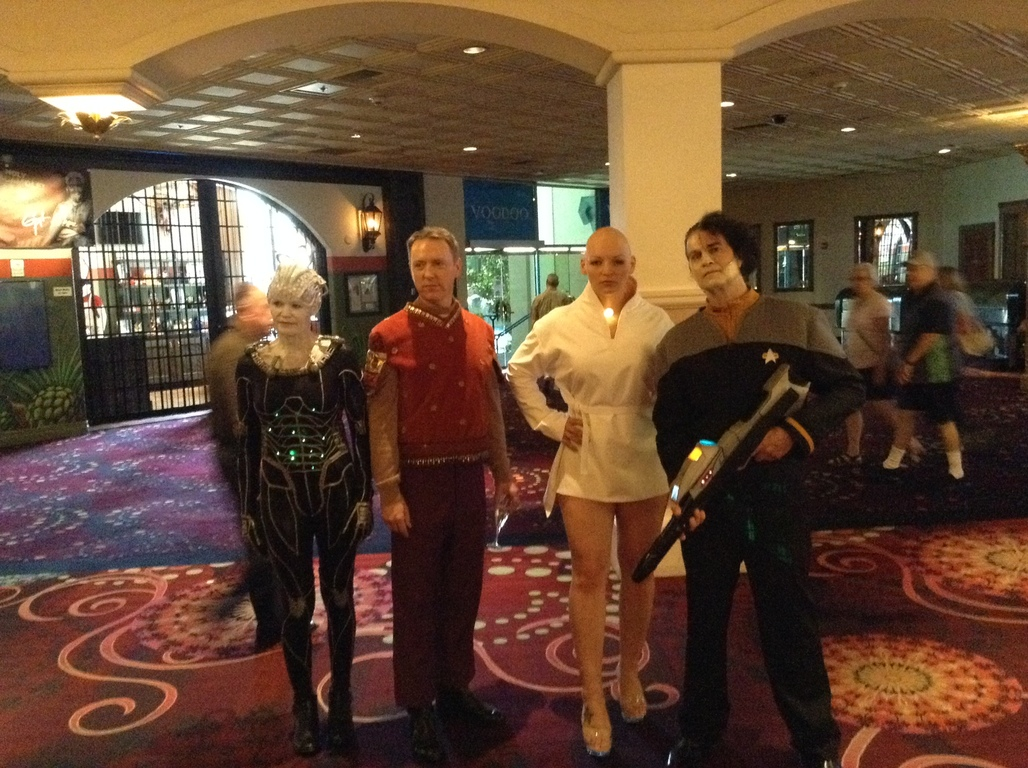 Borg Queen and Data Costumes