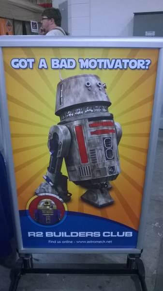 Astromech Advertisement