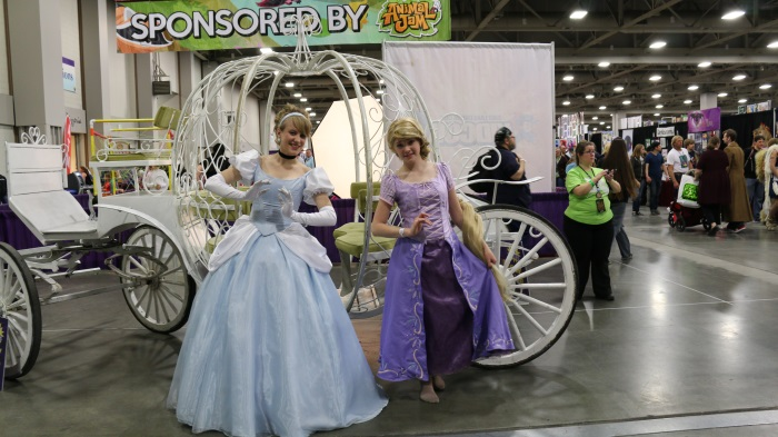 Cinderella and Rapunzel.
