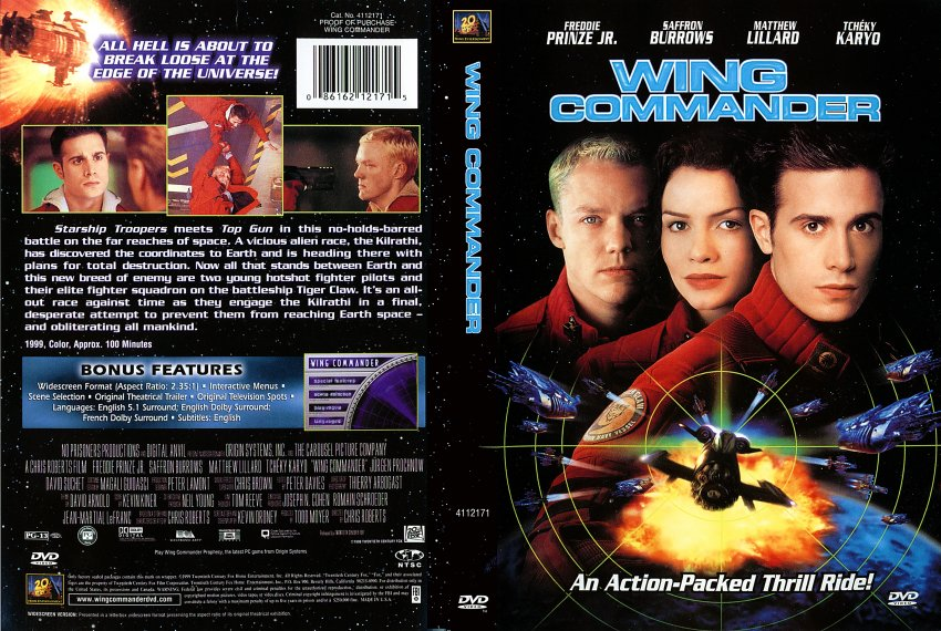 Jack S Bad Movies Wing Commander The Science Fiction And