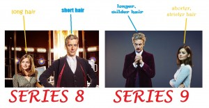 Hair in series 8-9