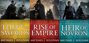 Riyria Revelations book covers