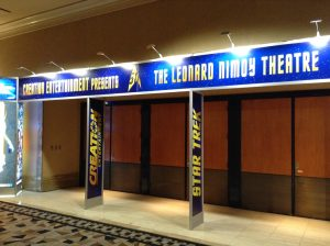 Leonard Nimoy Theatre at Star Trek 50