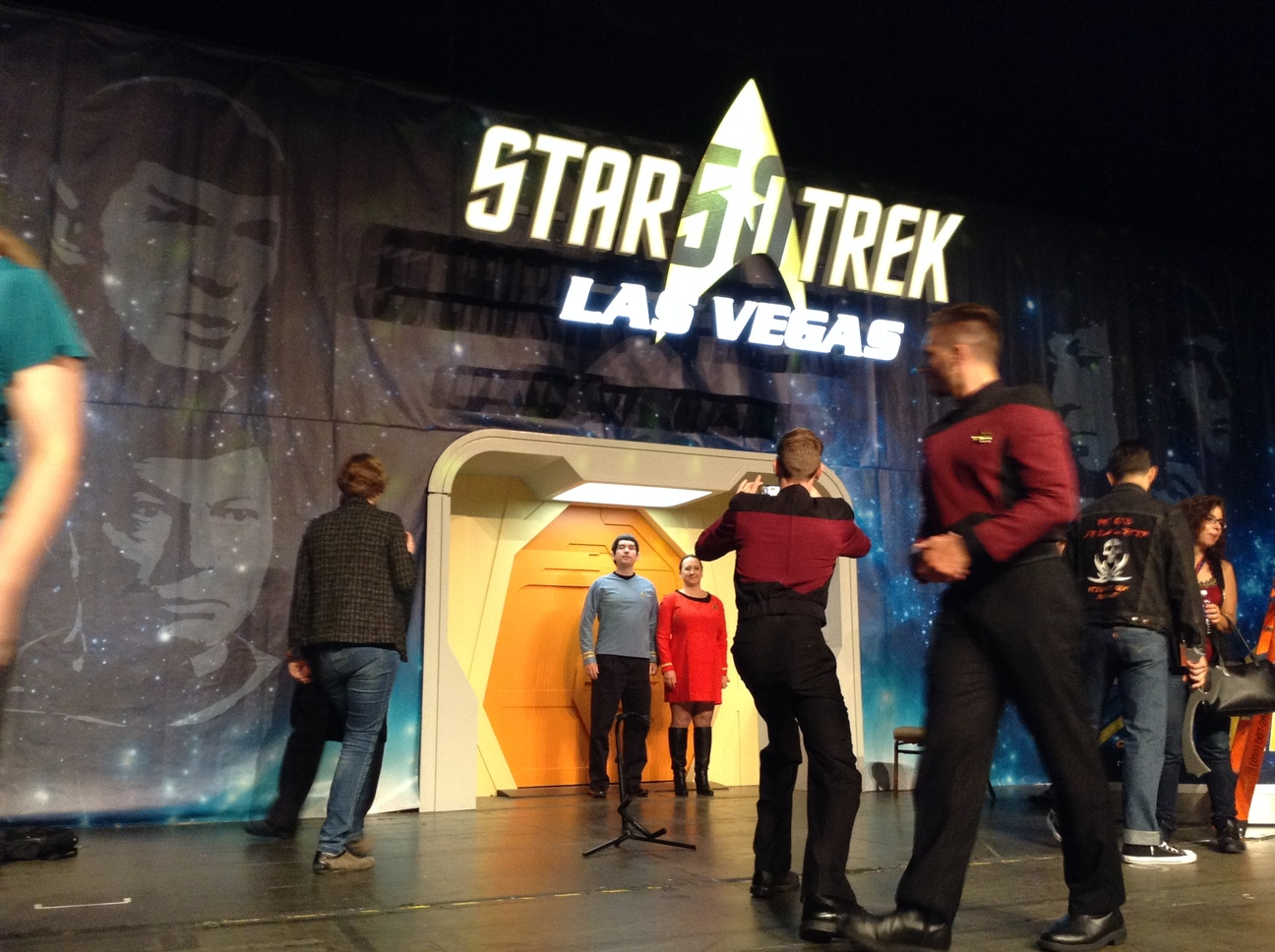Main Stage at Star Trek 50