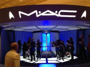 MAC Cosmetics Stage at Star Trek 50