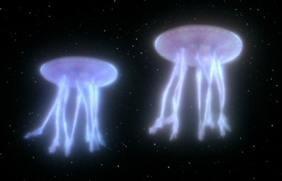 "Space Jellies from ""Encounter at Farpoint""!"