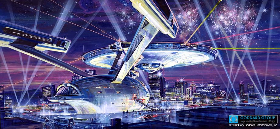 The Enterprise Has Landed